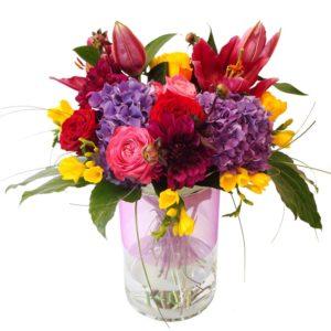 Bouquets de fleurs d'été fiesta