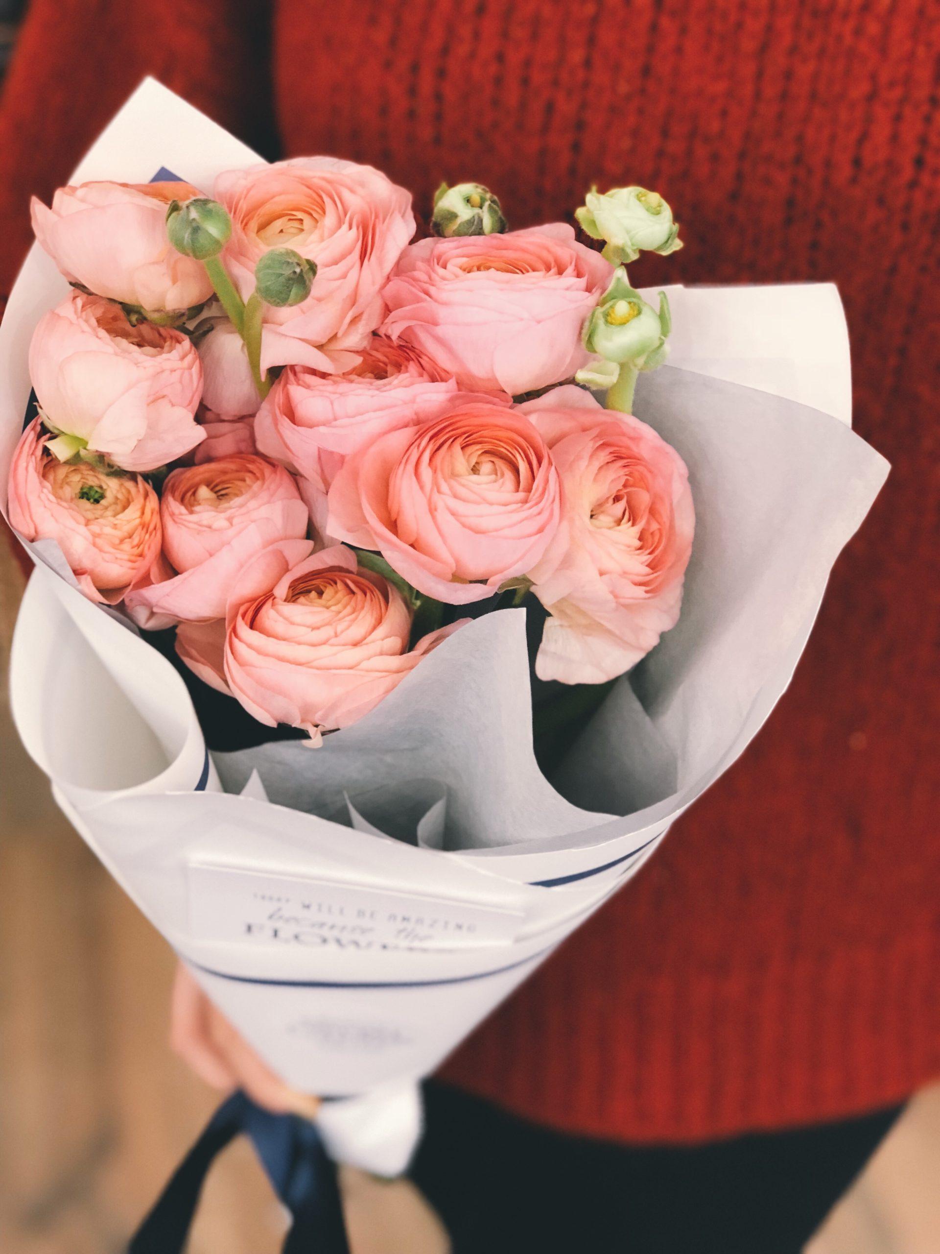 bouquet emballage papier